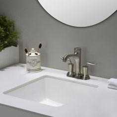 Kraus Elavo™ Ceramic Square Undermount Bathroom Sink with Overflow | AllModern