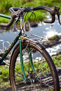 https://flic.kr/p/2581cZ8 | A01_5311 #steel #gravel #bilaminating #columbus #custom #madeinpoland #bicycle #frontrack #rack #stainless #nierdzewny #shimano #nitto #regal #retroshift #gevanelle #dtswiss #bike #grass #bikeporn #4130 #water