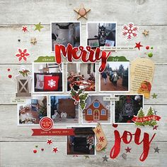 Layout created by design team member Cari Locken using our Claus & Co. collection