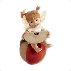 APPLE of MY EYE FAIRIE ___From Series One of the My LiTTLe KiTcHeN FAiRiES Collection from Enesco