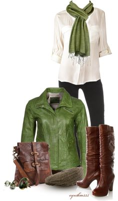 """Forest Colors"" by cynthia335 on Polyvore"