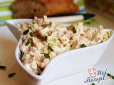 Czech Recipes, Ethnic Recipes, Cold Meals, Holidays And Events, Bon Appetit, Potato Salad, Macaroni And Cheese, Tzatziki, Food And Drink