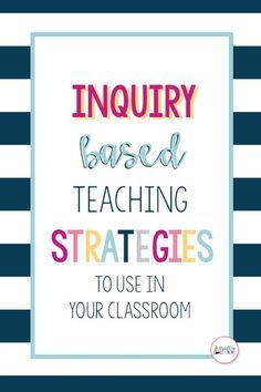 Teaching Strategies That Go Beyond Think-Pair-Share Ready to revamp your teaching strategies? Check out these inquiry-based learning teaching strategies to use in your classroom! Inquiry Based Learning, Project Based Learning, Teaching Science, Science Inquiry, Teaching Gifted Students, Stem Teaching, Problem Based Learning, Experiential Learning, Early Learning
