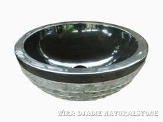 Sink Bowl Outside Mix Polish Alur Marmo Color : Black Size: Ø 35 cm X H. 15 cm Ø 40 cm X H. 15 cm Ø 45 cm X H. 15 cm