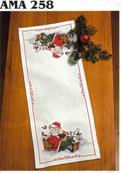 manteles de navidad (pág. 4)   Aprender manualidades es facilisimo.com