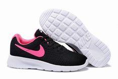 promo code 08271 4980e running pas cher nike roshe nouveau noir et rose