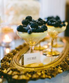Great Gatsby Party Food | Have lots of fancy food options, especially desserts!