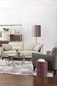 Contemporary Lines Are Chic When Upholstered In The Rich Leather Of The  Modern Marco Sofa. As Soon As I Saw This Sofa, ...