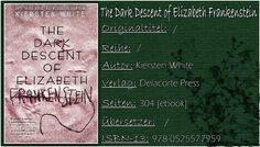 Books on Fire (ehemals Books on PetrovaFire): [Rezi] Kiersten White - The Dark Descent of Elizab...
