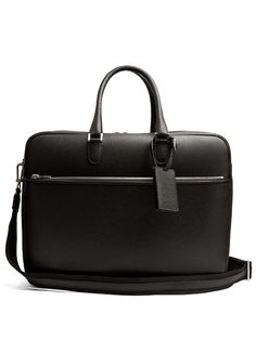 fd3758c3a085 Valextra Grained-leather holdall Designer Travel Bags