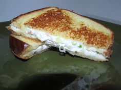 Crab Rangoon Grilled Cheese Sandwich
