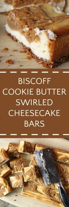 Or maybe just put ground spekkulaas as crust for a cheesecake, similar flavor, a little less CARDIAC ARREST.... ? ? .........................................................................................Biscoff Cookie Bars
