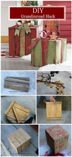 [orginial_title] – Kim Elish Repurposed DIY Projects To Upgrade Your Home DIY Grandinroad Hack A Pallet Project – Repurposed DIY Projects To Upgrade Your Home – Page 5 of 8 – DIY & Crafts Diy Pallet Projects, Pallet Ideas, Diy Projects To Try, Christmas Wood, Christmas Projects, Holiday Crafts, Christmas Craft Show, Xmas, Christmas Decor