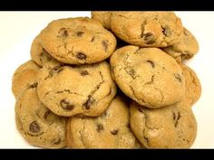 Chocolate Chip Coffee Cookies - YouTube Coffee Biscuits, Coffee Cookies, Chocolate Coffee, Chips, Make It Yourself, Cooking, Youtube, Desserts, Food