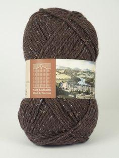 Damson Aran Wool #knitting #knit #wool #handknitting #newlanark #scotland #scottish #aran #100%wool #purewool