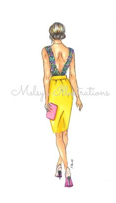 The Yellow Skirt on Etsy, $20.00