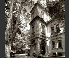 Tempos atuais. Casa de Dona Veridiana, no bairro de Higienópolis. O palacete foi concebido em meados de 1880.