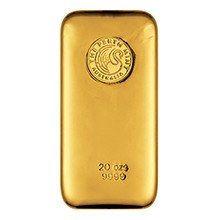 20oz Perth Mint Gold Bullion Bar