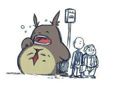 Totoro arrêt de bus