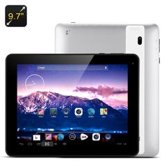 Android 9.7 Inch Tablet - A31S Cortex A7 Quad Core CPU, 1024x768 Display