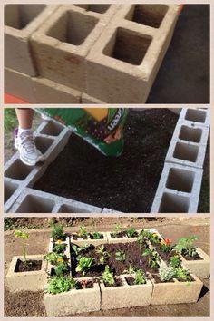 Easy garden container