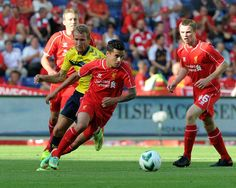 Brondby Liverpool: Fehran Hasani scores late to deny Reds Liverpool Football Club, Liverpool Fc, Dominic King, Premier League Soccer, English Premier League, My Passion, Scores, World Cup, Red