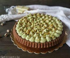 Tart Recipes, Sweet Recipes, Tasty Dishes, Food Dishes, Nutella, Torta Angel, Pistachio Dessert, Italian Desserts, Sweet Cakes