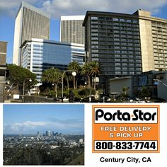Need to Rent Portable Storage Containers in Century City? Call to Rent Portable Storage Containers in Century City