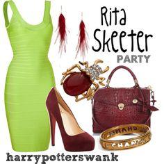 Harry Potter + Fashion.
