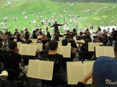 To all those who love classical music, don't forget the Verbier Classical Music Festival will be held in July!