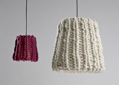 """By designtrio Pudelskern: """"Granny Lamp"""". Homey!"""