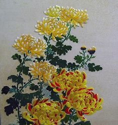 Chinese embroidery (or silk painting) - but no pattern. I LOVE this type of hand embroidery ...