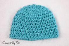 Charmed By Ewe Free Pattern: Basic Bulky Beanie  all sizes @Tina Doshi Doshi Vanaken-turner (A Bulky hat)