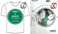 erros e acertos ao lavar roupa