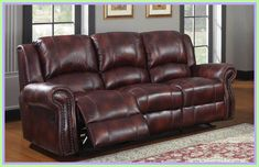Leather reclining sofa - Sofas are a piece of furniture that most people spend a great deal of time shopping. Sofas are also a piece of furniture that Bedroom Furniture Design, Burgundy Sofas, Sofa, Furniture, Leather Sofa Furniture, Sofa Deals, Leather Reclining Sofa, Leather Couches Living Room, Bedroom Furniture