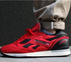 Reebok Classic LX 8500-Stadium Red-Black-Paperwhite