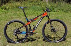 2015 Orbea Oiz full suspension XC race mountain bike