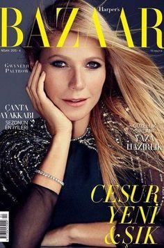 Harper's Bazaar Turkey April 2015 Cover (Harper's Bazaar Turkey)