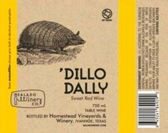 NV Salado Winery Dillo Dally Red 750 mL ** Check this awesome product by going to the link at the image.