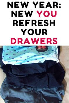 New Year, New You: Refresh Your Drawers