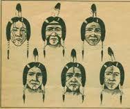 Evergreen Native American Survival Skills - The Apache Foot . Native American Face Paint, Native American Warrior, American Indian Art, Native American History, Native American Indians, Native Americans, American Gods, Indian Face Paints, Paint Meaning