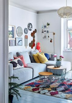 Colour Play In The Living Room