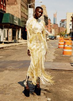 rich rewards: achok majak by david roemer for uk marie claire september 2016…