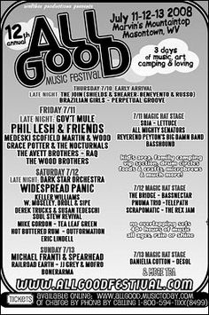First All Good- 2008