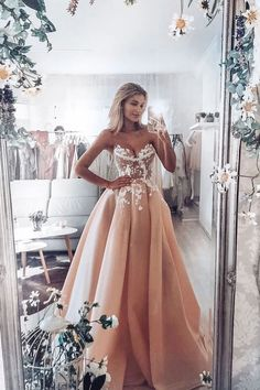 Long Prom Gowns, A Line Prom Dresses, Tulle Prom Dress, Lace Evening Dresses, Formal Dresses, Wedding Dresses, Tulle Lace, Dress Lace, Amazing Prom Dresses