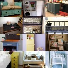 Don't throw that out, upcycle it. 7 ideas for furniture repurposing.