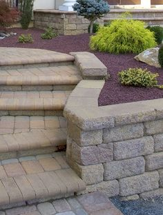 Landscape steps to compliment your walkway.