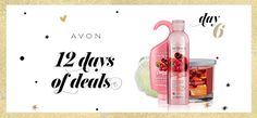 Today's #12DaysofDeals is all about the senses. Use CODE: SENSES w/ any $45 purchase. #AvonRep #Day6