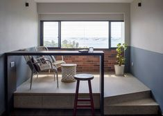 """How to Create a """"Balcony"""" When You Don't Have One Corner Reading Nooks, Cosy Corner, Interior Design Themes, Interior Styling, Renovation Budget, Shelf Furniture, Home Office Space, Design Firms, Home And Living"""