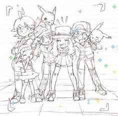 I don't know why Mirror Serena and Mirror Ash are so cute, but they are.